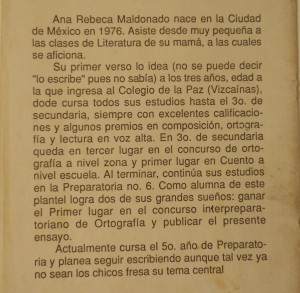 ¿Ana Rebeca, dice?