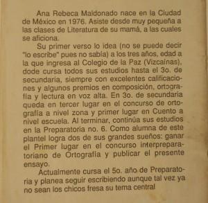 ¿Ana Rebeca, dice?