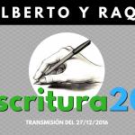 Una invitación: Escritura 2017